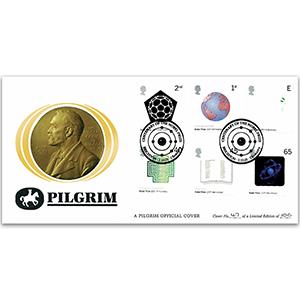 2001 Nobel Prizes 100th Pilgrim Cover - Brighton