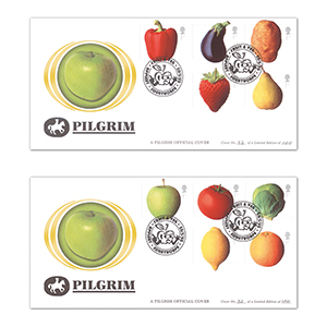 2003 Fun Fruit and Vegetables Pilgrim Cover - Appleby
