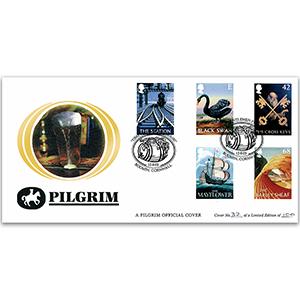 2003 British Pub Signs Pilgrim Cover