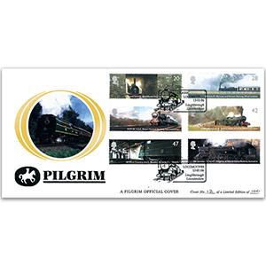 2004 Classic Locomotives Pilgrim Cover - Loughborough