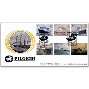 2004 Ocean Liners Pilgrim Cover - Southampton