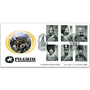 2004 Crimean War Pilgrim Cover - BFPS 2810