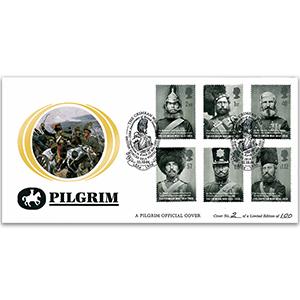2004 Crimean War 150th Pilgrim Cover - BFPO2814