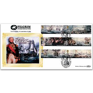 2005 Trafalgar Bicentenary Pilgrim Cover - King's Lynn