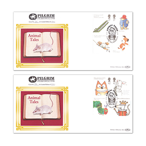 2006 Animal Tales Pilgrim Covers - Pair - Catshill