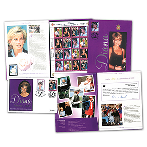 Isle of Man Diana Limited Edition Presentation Pack