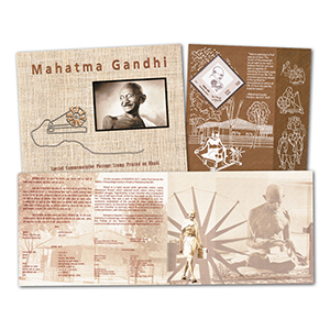 India - Gandhi M/S on Khadi Cloth Pack