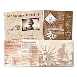 India - Gandhi M/S on Khadi Cloth Pack