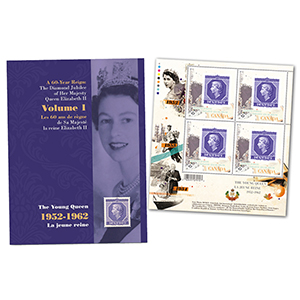 Canada Diamond Jubilee Keepsake Folder No.1