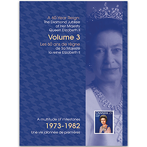 Canada Diamond Jubilee Keepsake Folder No. 3