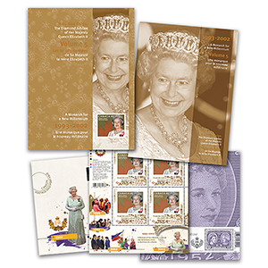Canada Diamond Jubilee Keepsake Folder No. 5