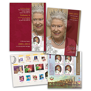 Canada Diamond Jubilee Keepsake Folder No. 6