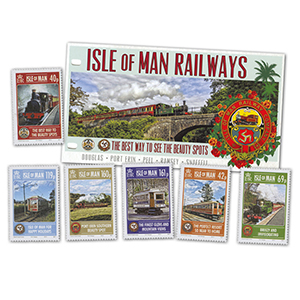 Isle of Man Railways Presentation Pack