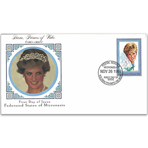 1997 Micronesia - Princess Diana Memorial Cover