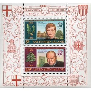 1975 Ascension, Churchill birth anniversary
