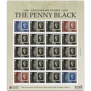175th Anniversary of the Penny Black 2015 - Sheetlet