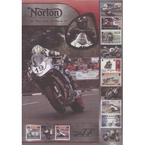 IOM Norton TT Winners Celebration Sheetlet 2015