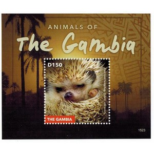 Animals of The Gambia 2015 - Miniature Sheet - Gambia