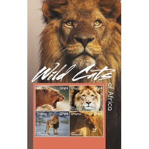 Wild Cats Lion 2015 - Sheetlet - Ghana