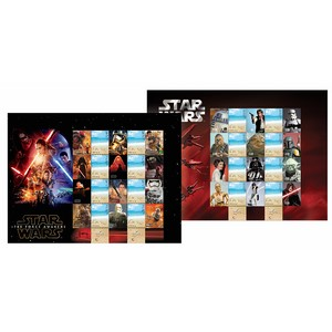 Star Wars 2015 - Stamp Pack - Israel