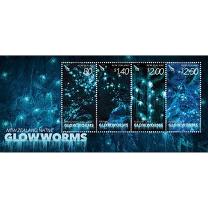 ****NZ Glowworms Glow in Dark M/S 2016