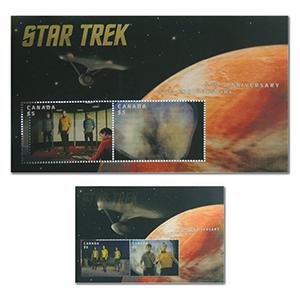 Star Trek Lenticular 2016 - Miniature Sheet - Canada