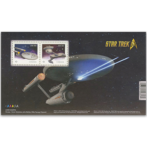 Star Trek 2016 - Miniautre Sheet - Canada