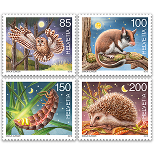 Switzerland Nocturnal Animals 2016 - Miniature Sheet - Switzerland