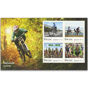 Cycling in Ireland 2016 - Miniature Sheet - Ireland