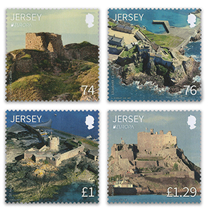 Jersey Europa '17 Castles & Forts 4v 2/3/17