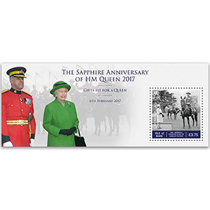 IOM QEII Sapphire Anniversary Gifts for a Queen M/S 6/2/17
