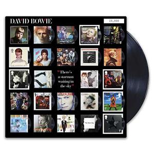 2017 David Bowie Album Art Fan Sheet