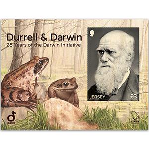 Jersey Durrell & Darwin £3 M/S 14/6/17