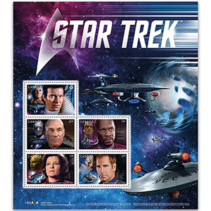 Star Trek 2017 - Miniature Sheet - Canada
