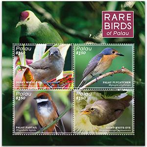 Palau Rare Birds 4v m/s 22/9/16