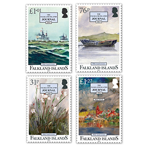 2017 Falklands Journal 50th 4 Values