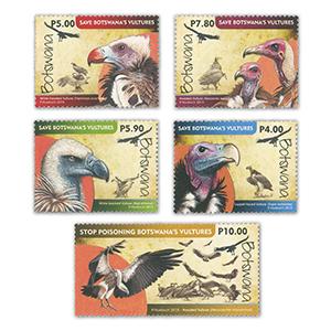 2015 Botswana Vultures 5v Set