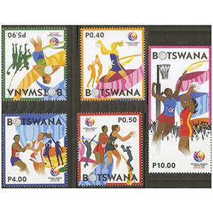 2017 Botswana Netball 5v
