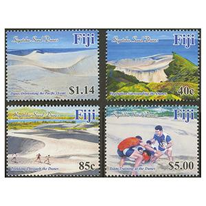 2017 Fiji Sand Dunes of Fiji 4v