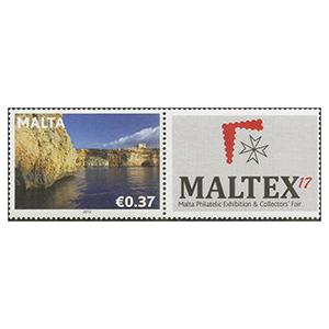 2017 Malta - Maltex 1v + Label