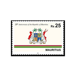 2017 Mauritius 25th Ann.Independance RS 25 1v