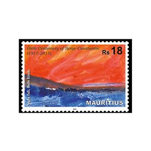 2017 Mauritius Serge Constantin RS18 1v