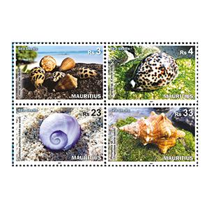 2017 Mauritius Sea Shells 4v