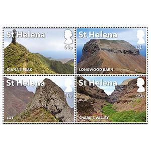 2017 St Helena Post Box Walks 4v