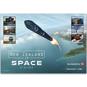 2018 New Zealand in Space 6v sheet