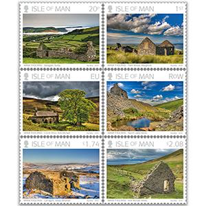 2018 IOM Manx Tholtans set 6v stamps