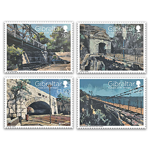2018 Gibraltar Bridges 4v set