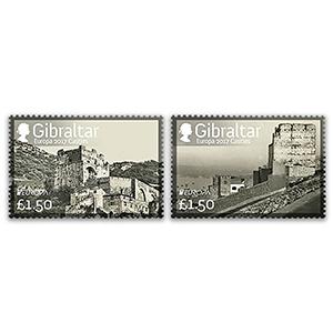 2017 Gibraltar Europa Castles 2v Set