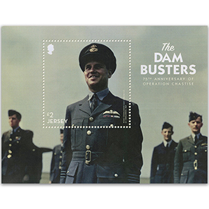 2018 Jersey Dam Busters £2 M/S