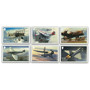2018 Jersey RAF 100th Anniversary 6v Set